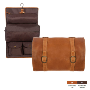Buffalo Mountain Leather Travel Kit